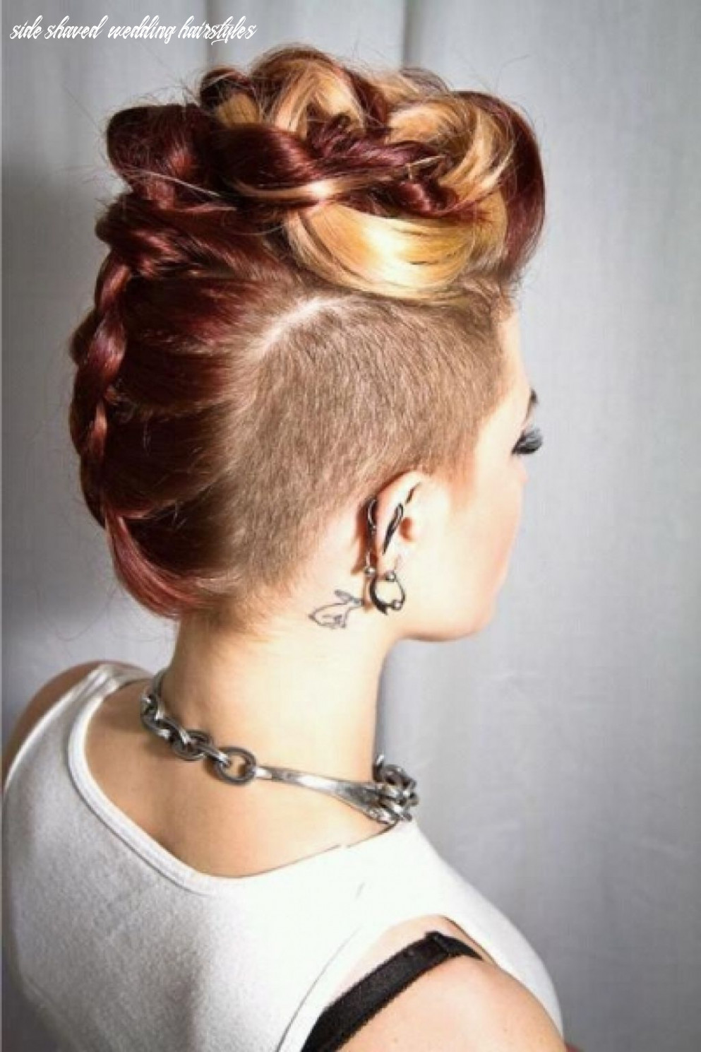 New wedding hairstyles – the trendiest looks for brides | shaved