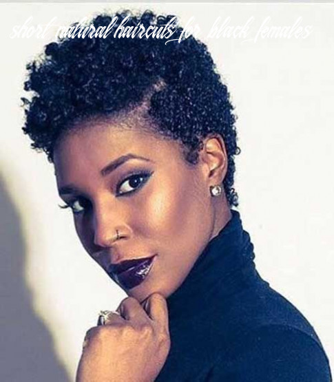 Newest short natural haircuts for black women   short hairstyles