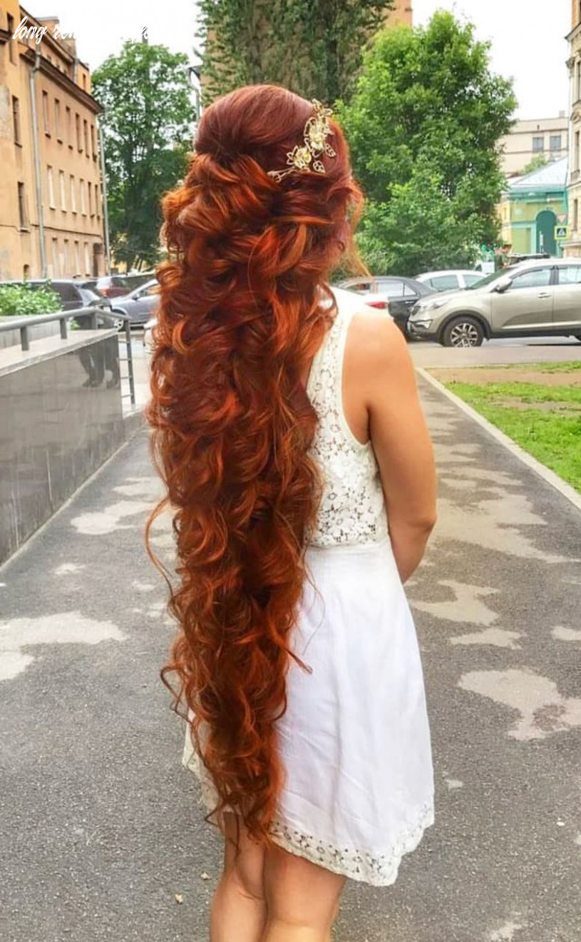 Nice! love it! long, red and curly | long hair styles, red curly