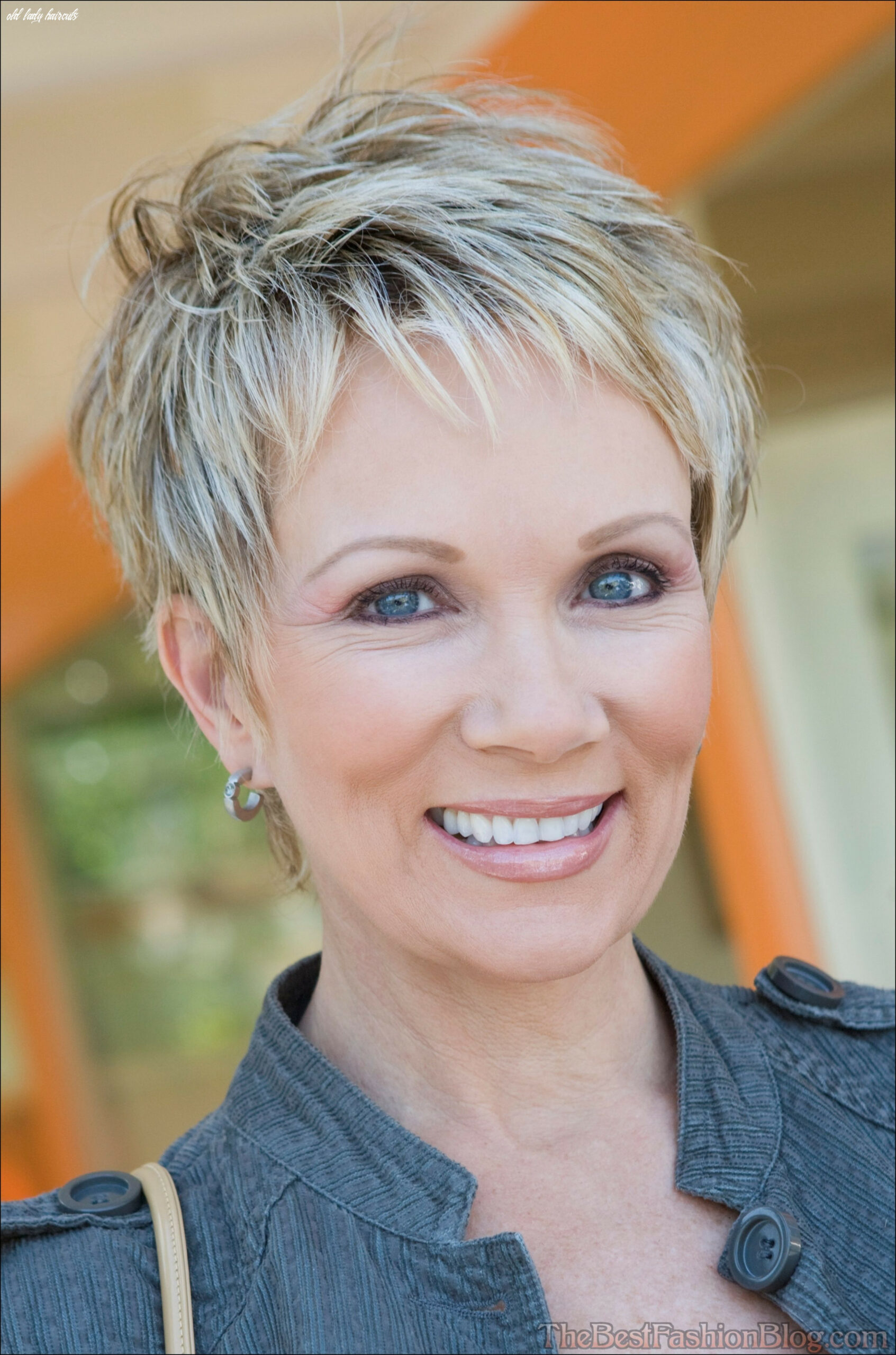 Old lady haircut | haircut for older women, hairstyles for thin