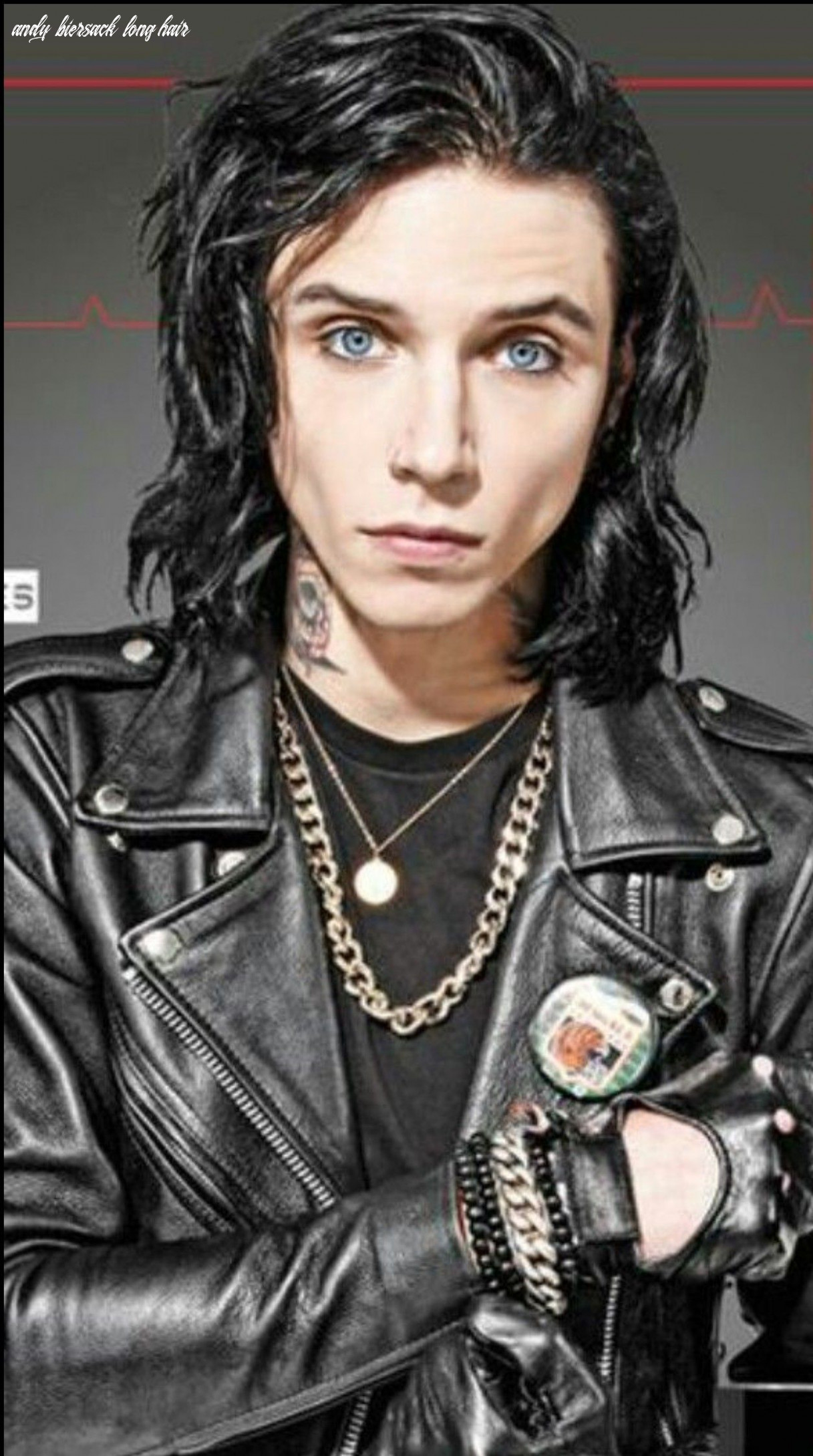 One of my favorite pictures!! | bvb, coverboy, bvb fan andy biersack long hair