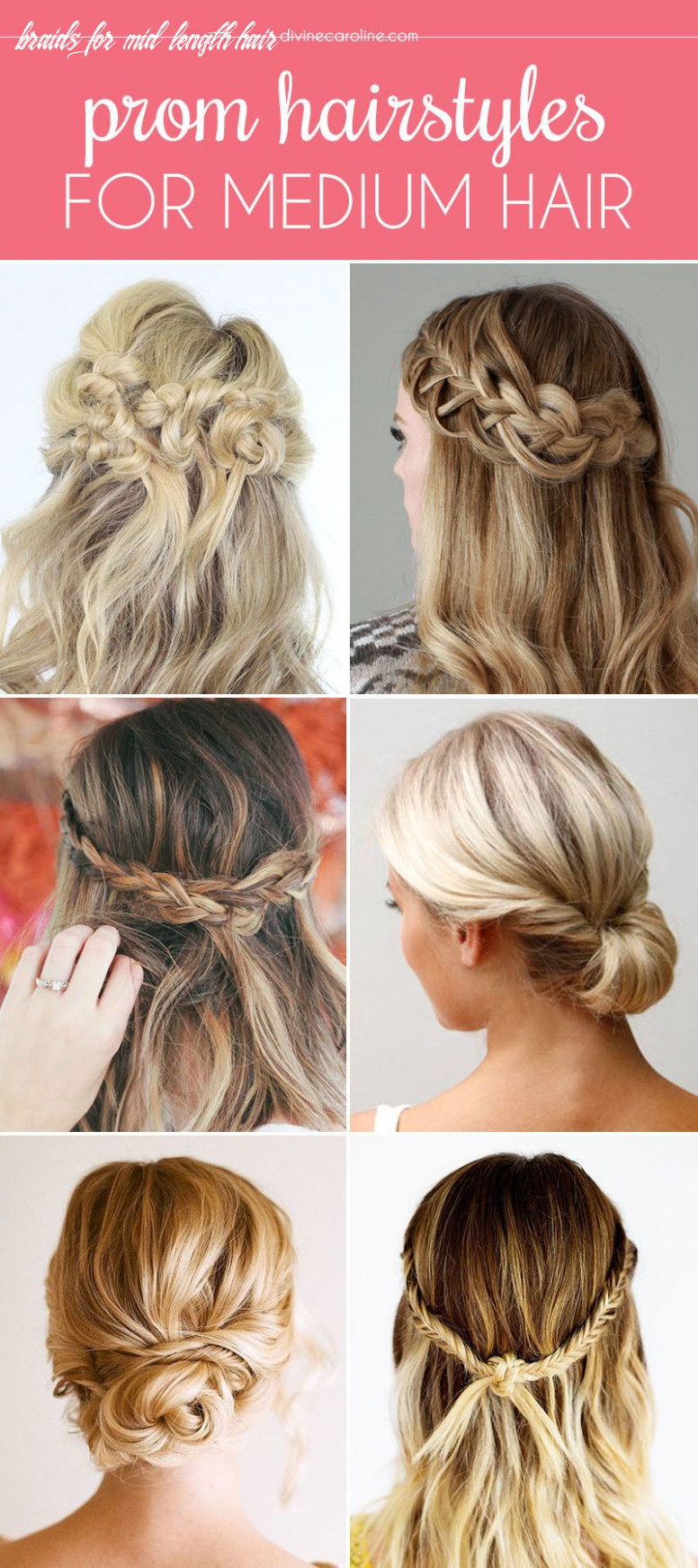 Our favorite prom hairstyles for medium length hair   prom hair