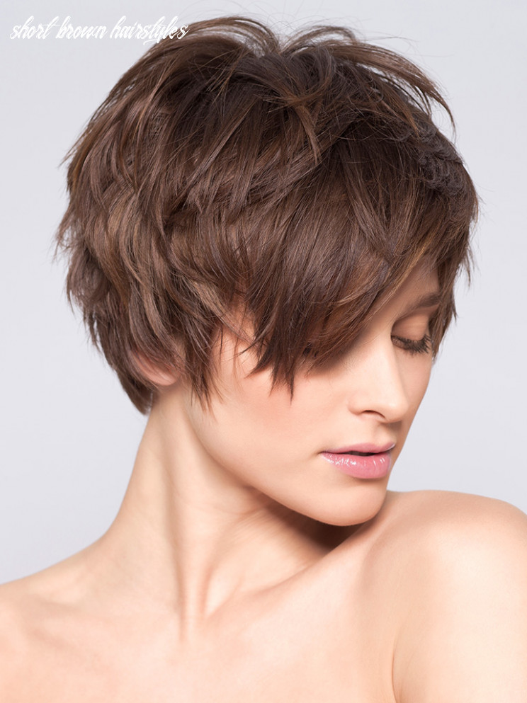 Our top 9 short brown hairstyles – place 9 | friseur