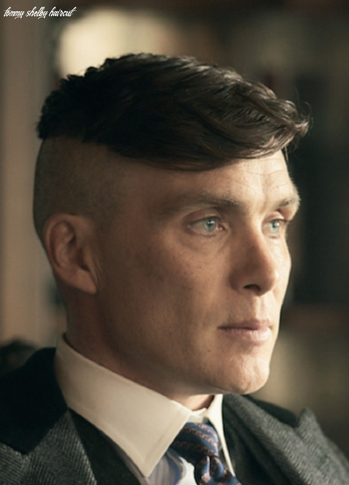 8 Tommy Shelby Haircut – Undercut Hairstyle