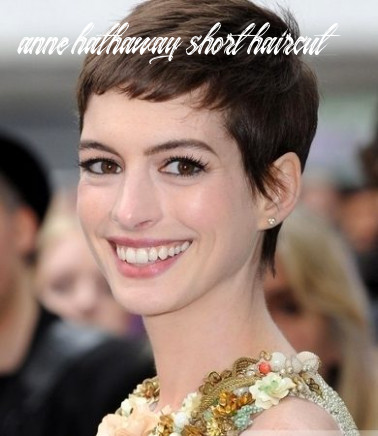 Pictures : Anne Hathaway Hairstyles - Anne Hathaway Very Short Haircut
