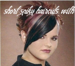 Pictures of spiked haircuts for women   spiked back long front