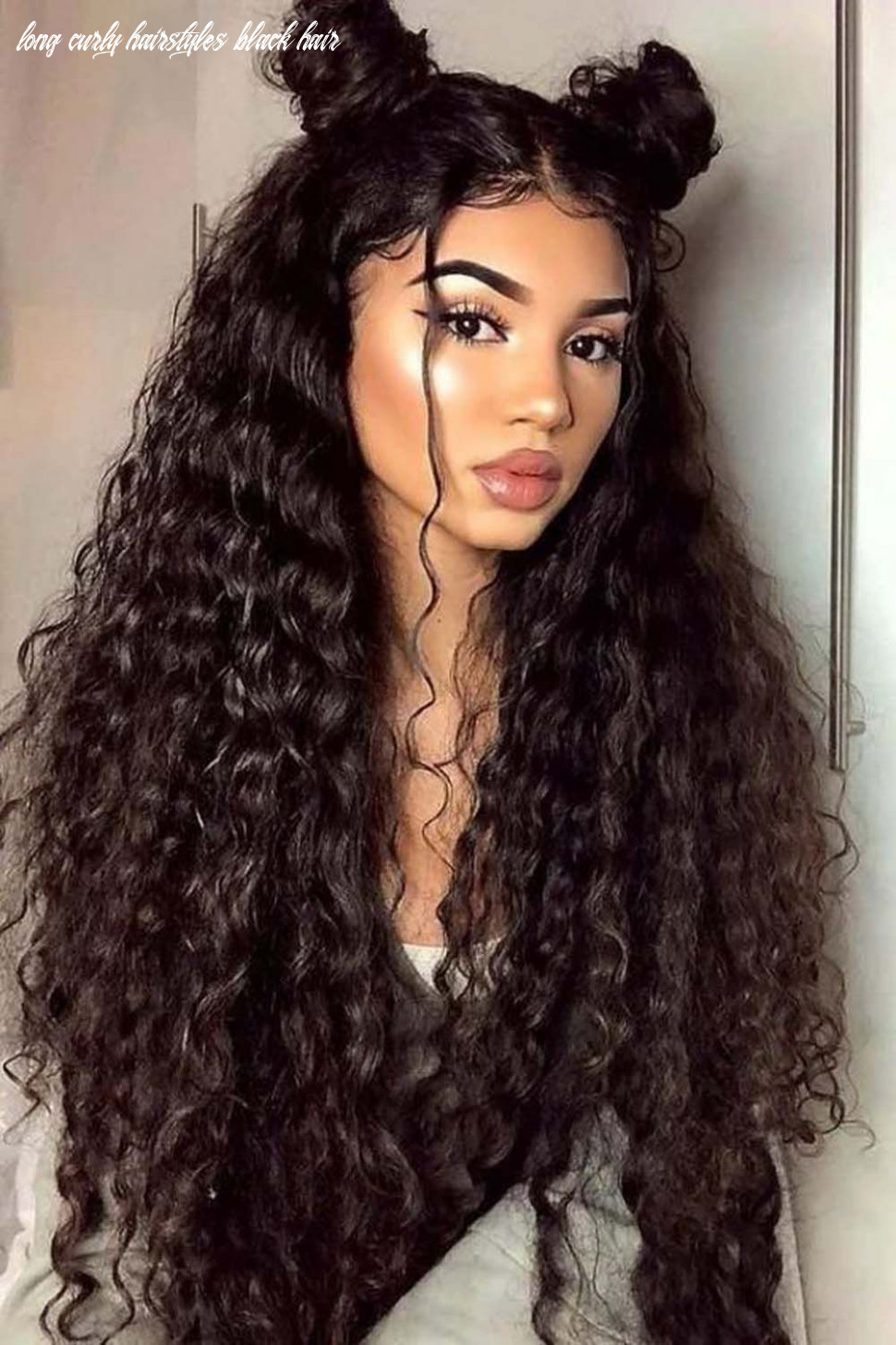 Pin auf curly hairstyles long curly hairstyles black hair