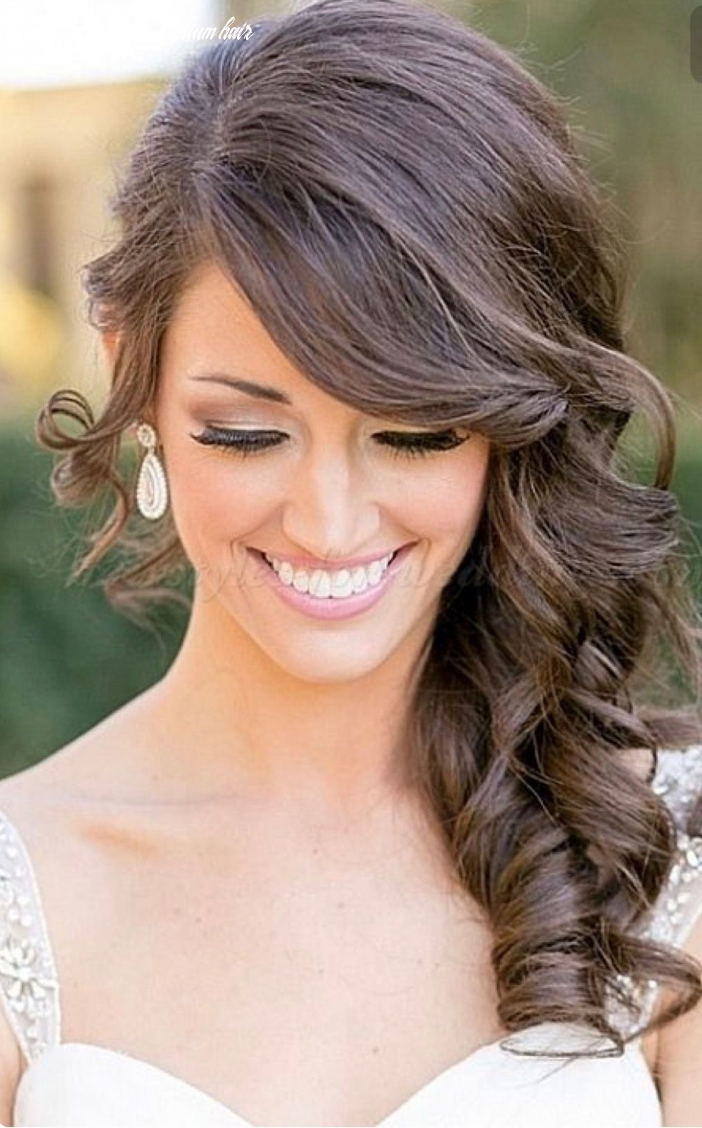 Pin by afnan alsulaimany on style | wedding hairstyles for medium
