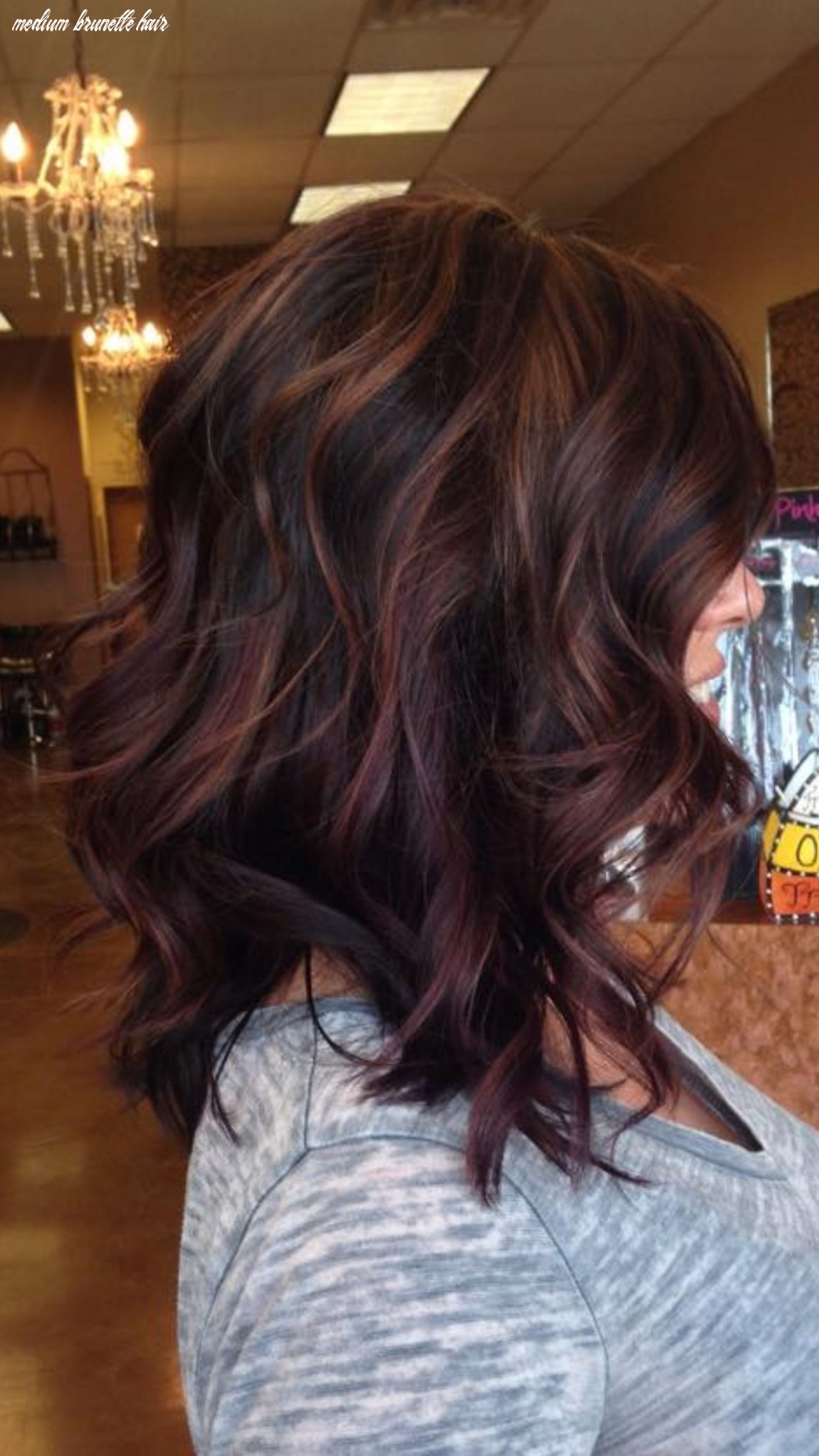 Pin by shelby alverson on hair | hair styles, brunette hair color