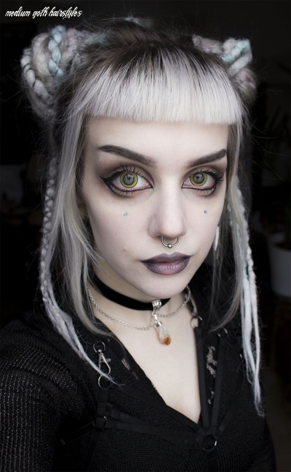Pin by vintage virtue on makeup (with images) | goth hair