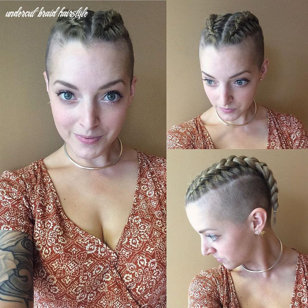 Pin by womens short hair styles on Undercuts, sidecuts | Braids ...