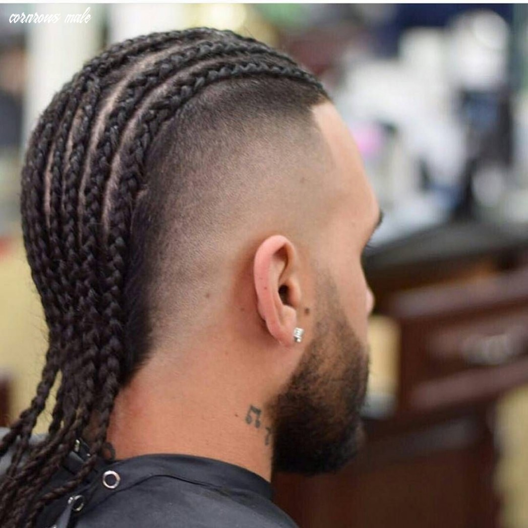 Pin em afro hairstyles cornrows male