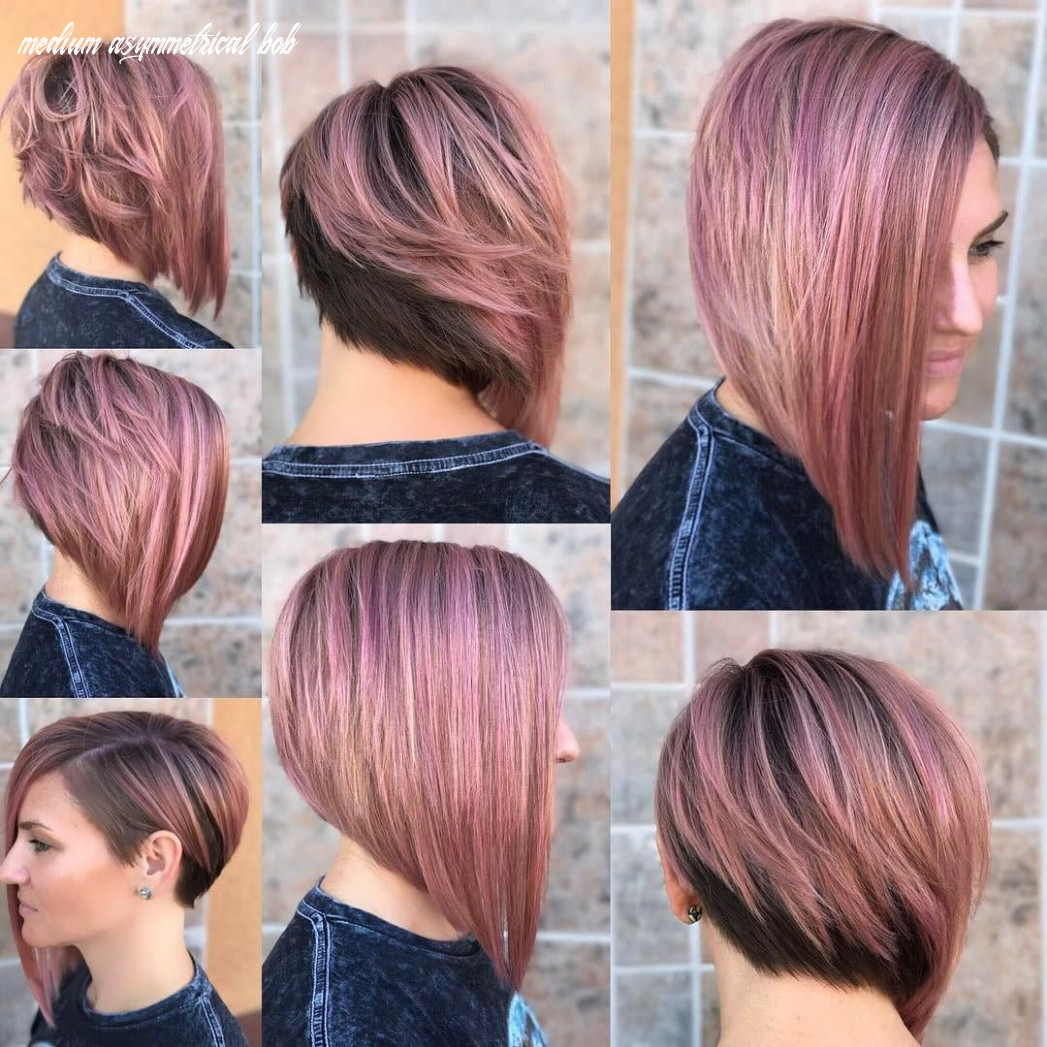Pin en awesome assyms! medium asymmetrical bob
