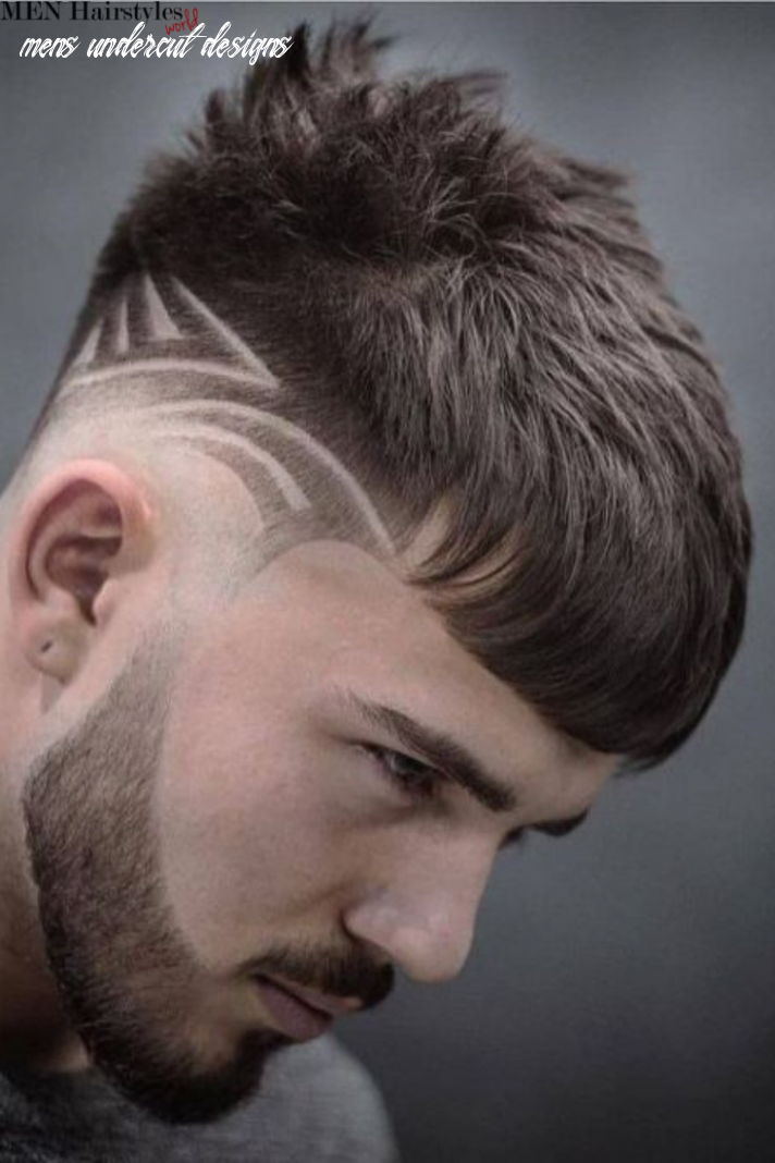 Pin en creative fades & hair designs mens undercut designs