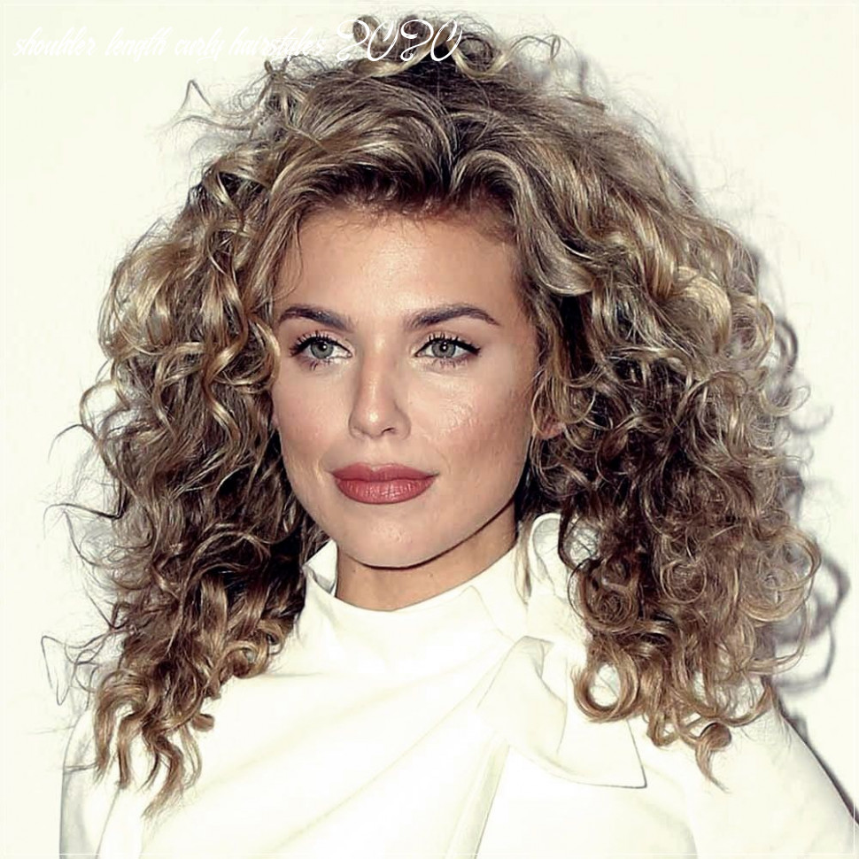 Pin on 9 hair trends shoulder length curly hairstyles 2020