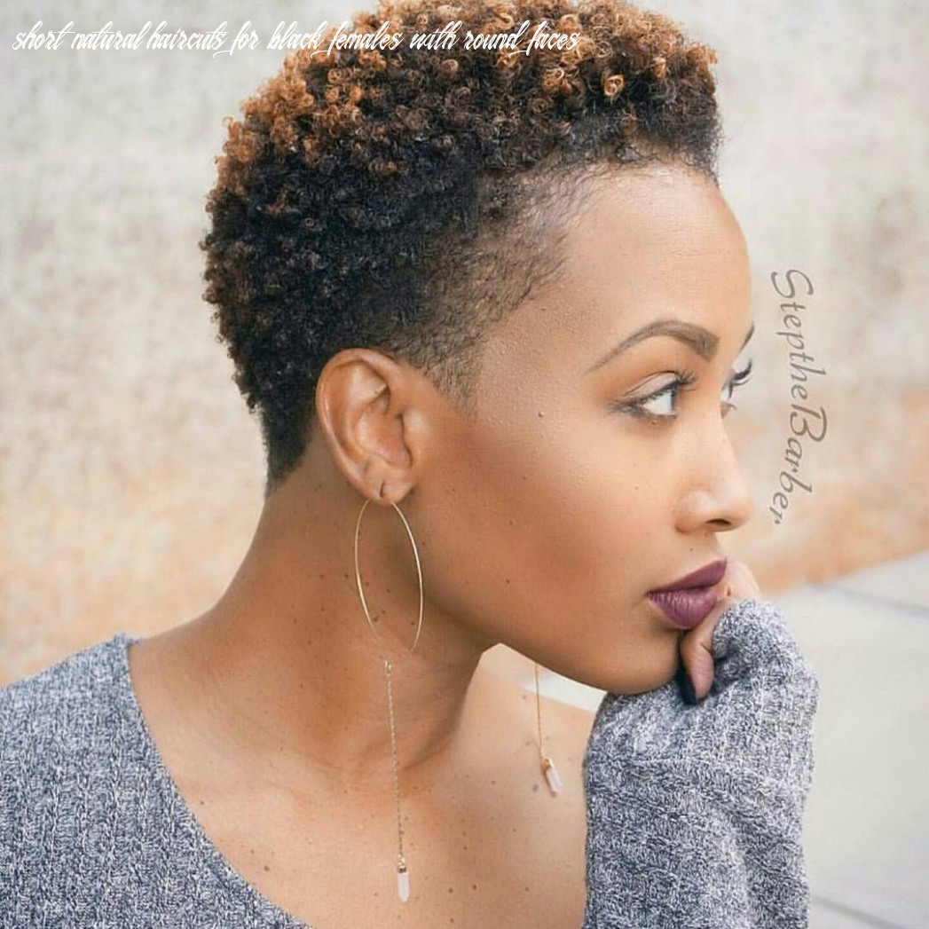 Pin on afro hair short natural haircuts for black females with round faces
