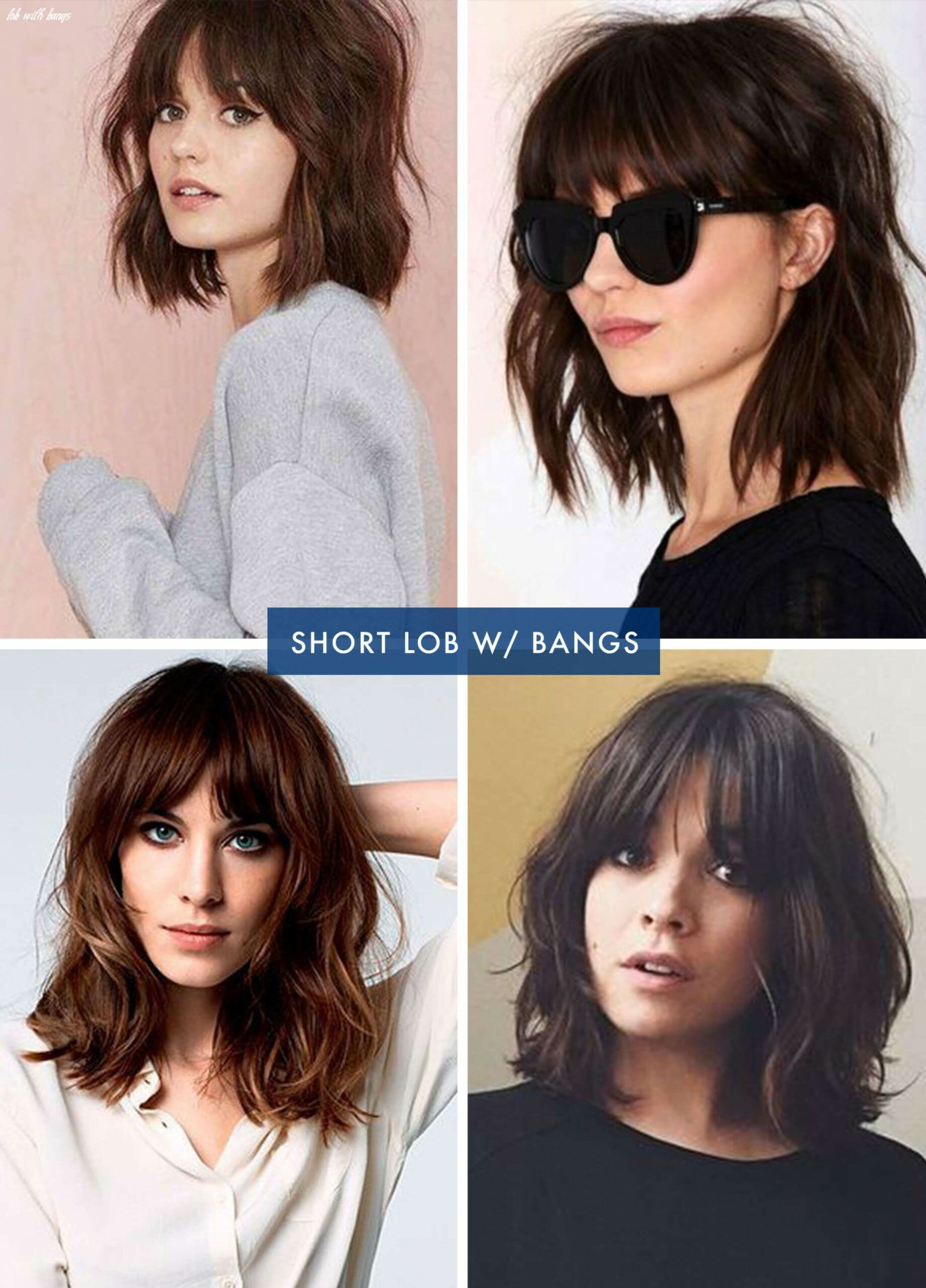 Pin on beauty / hair lob with bangs