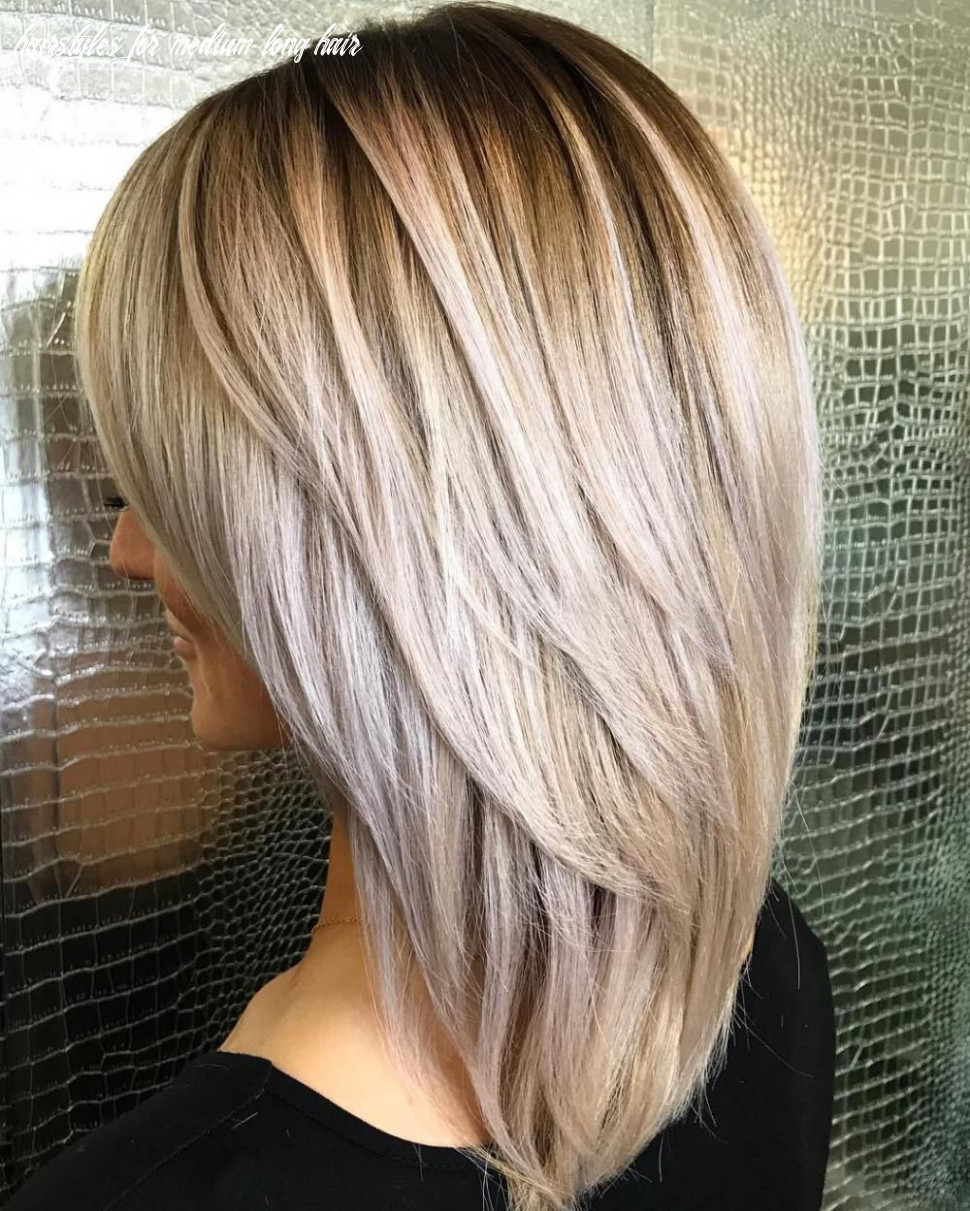 Pin on beauty in yourself hairstyles for medium long hair