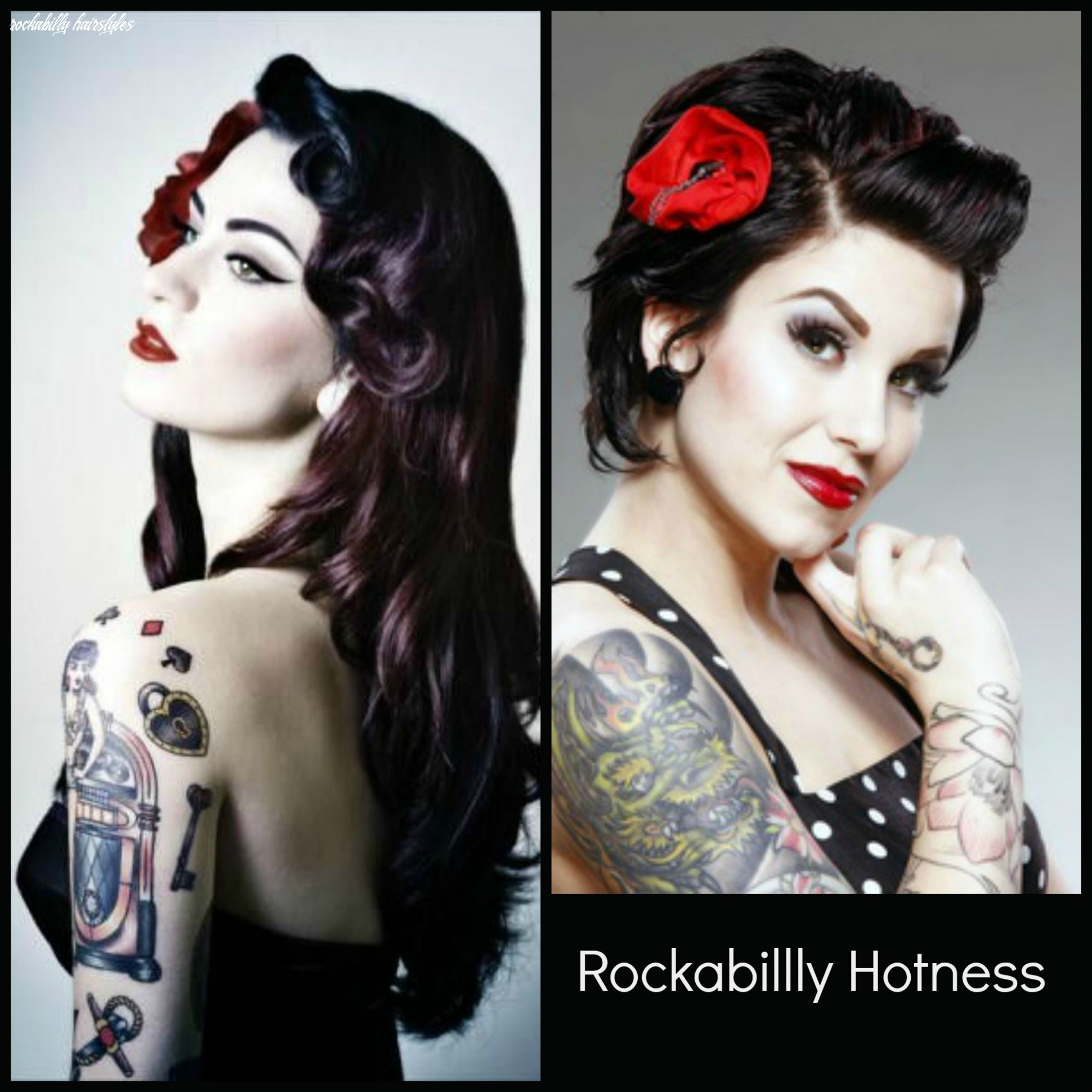 Pin on beauty/makeup rockabilly hairstyles