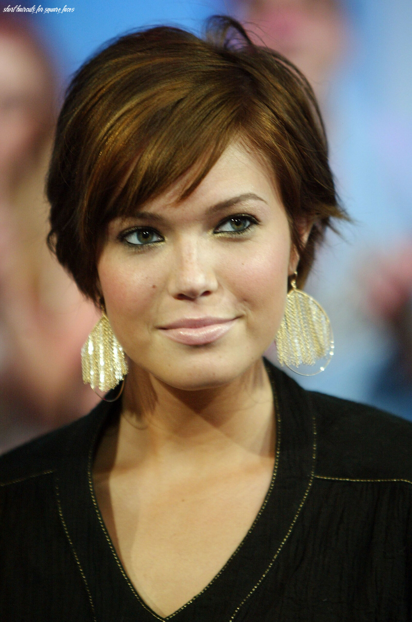 Pin on beauty short haircuts for square faces