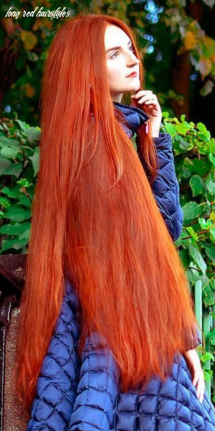 Pin on best ones long red hairstyles