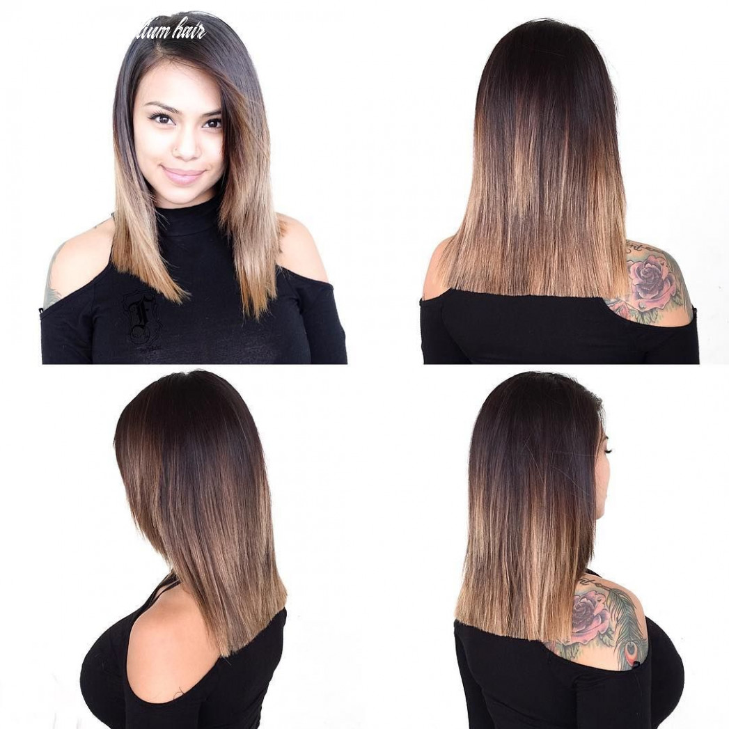 Pin on bobs & mid length cuts front layers medium hair
