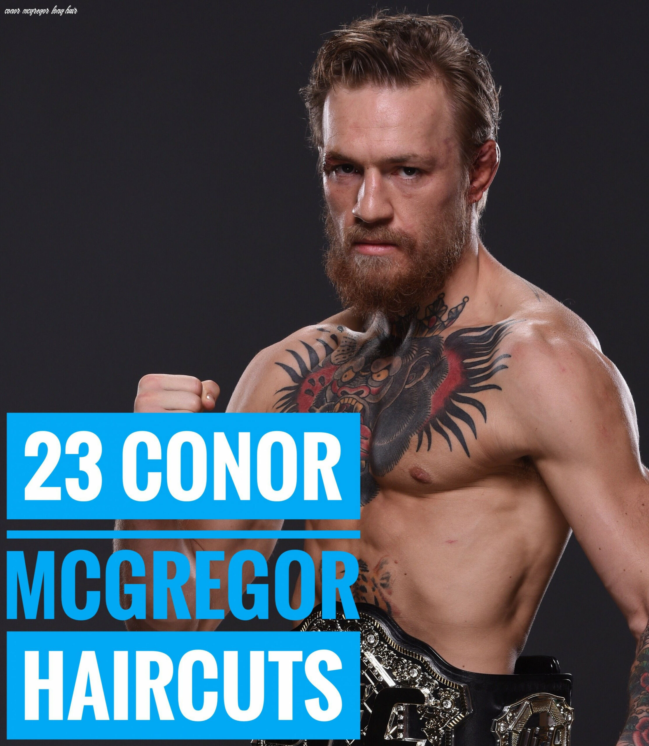 Pin on celebrity hairstyles conor mcgregor long hair