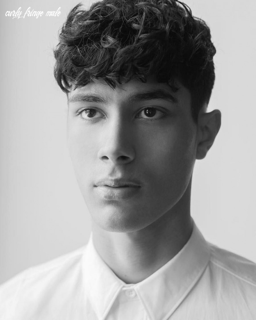 Pin on curly hairstyles for men 12 curly fringe male