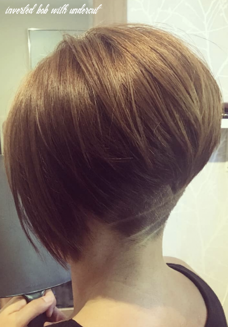 Pin on cute hair inverted bob with undercut