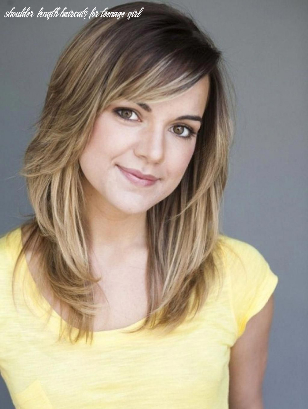 Pin on cute haircut styles for teen girls shoulder length haircuts for teenage girl