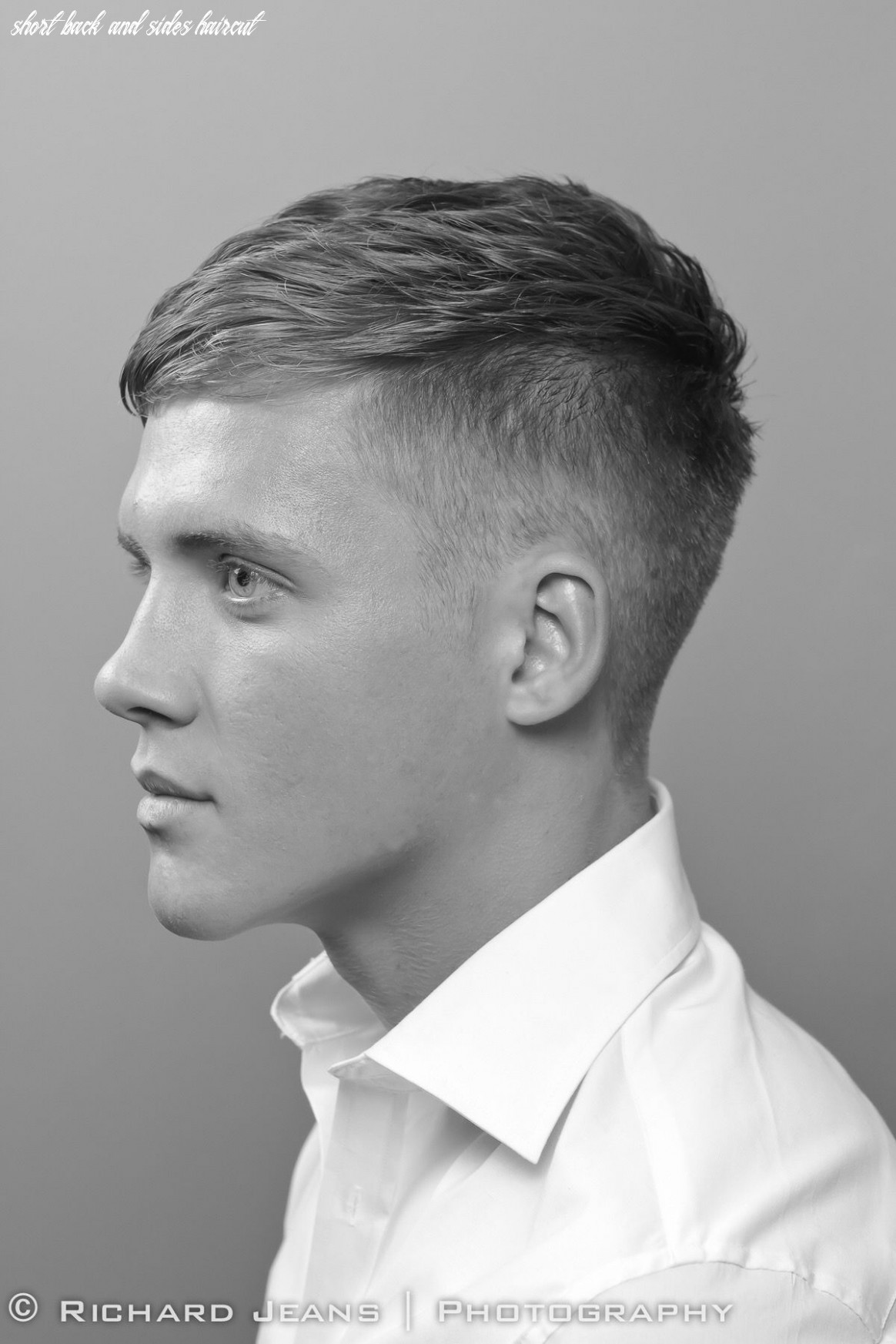 Pin on cuteness short back and sides haircut