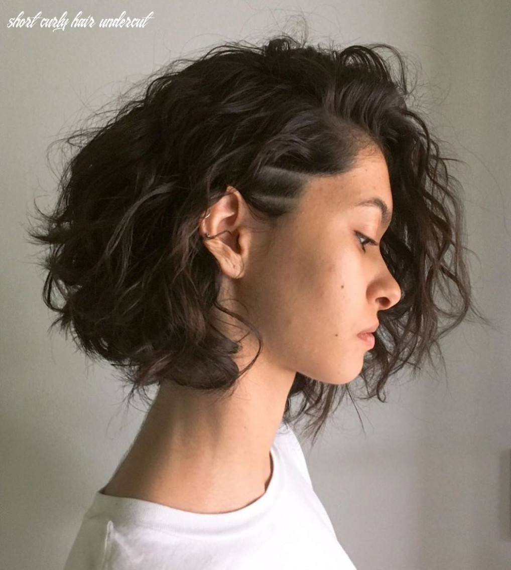 Pin on end of the world short curly hair undercut