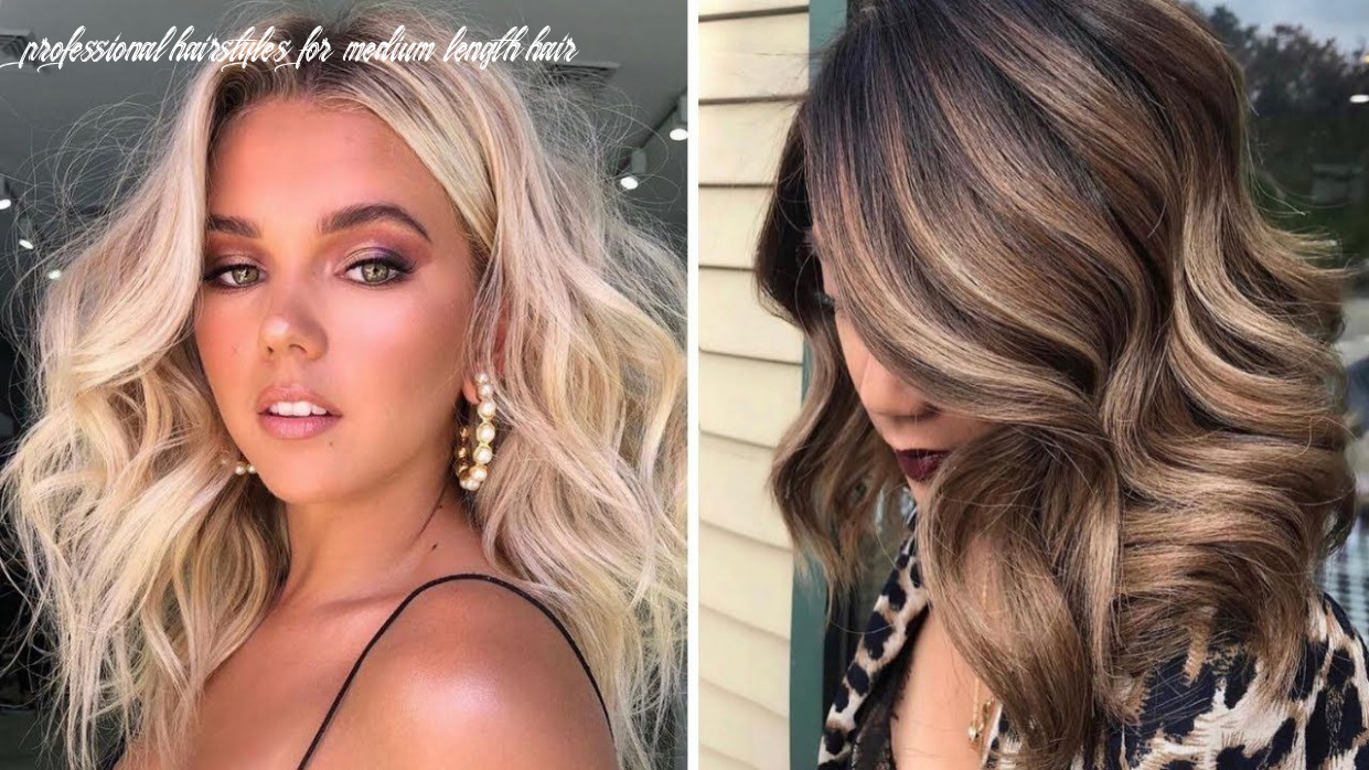 Pin on fashion, make up, hair & more professional hairstyles for medium length hair