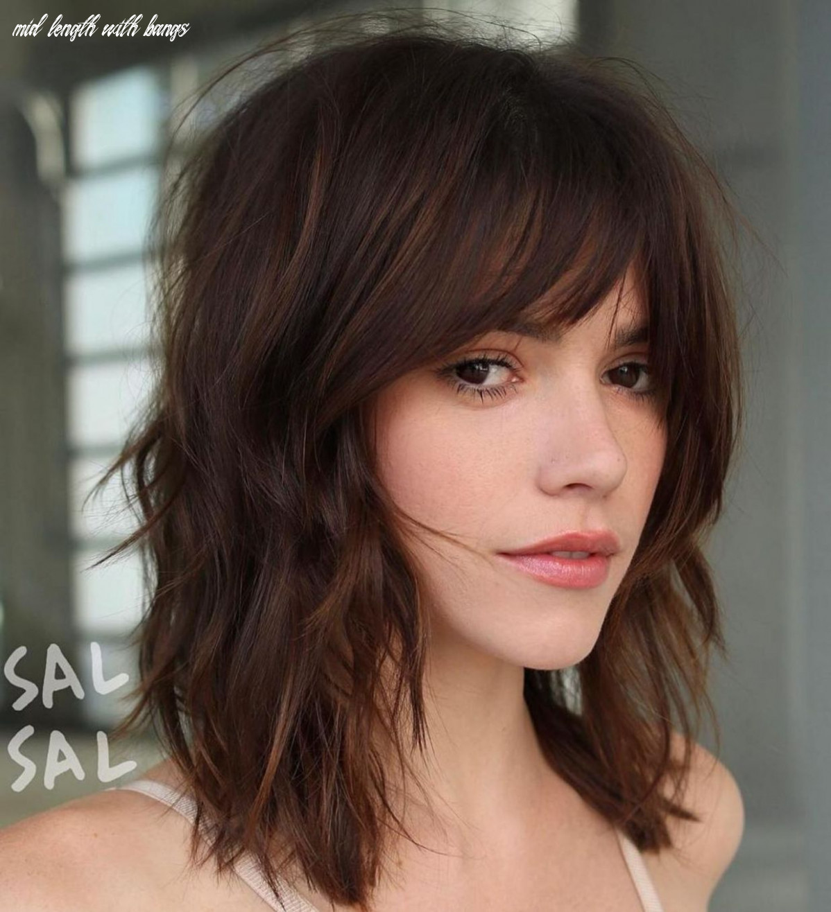 Pin on get yo hair did mid length with bangs