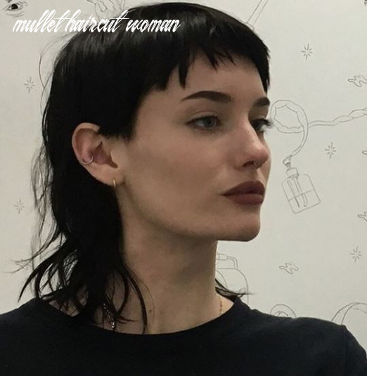 Pin on h a i r mullet haircut woman