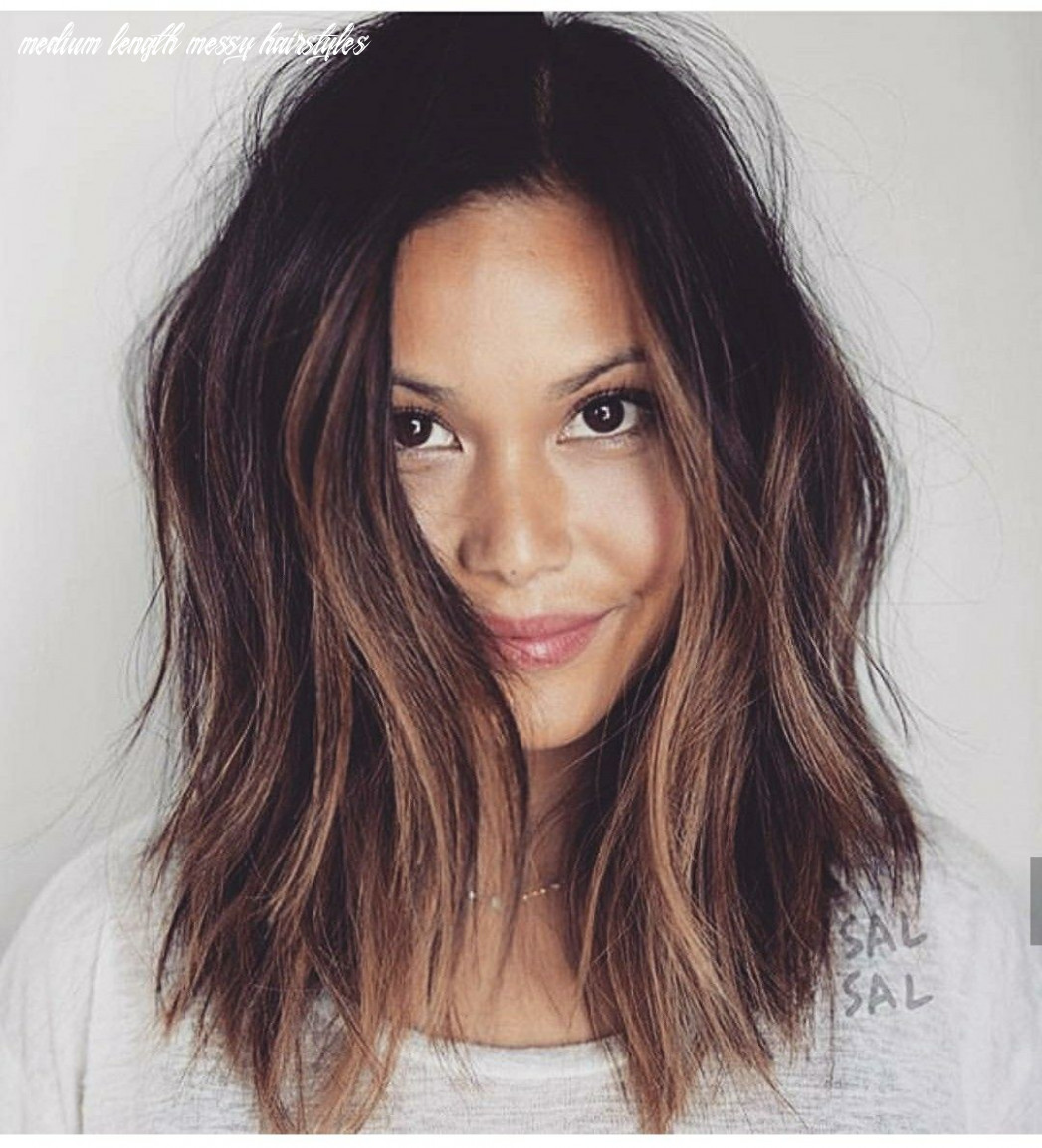 Pin on haaaair medium length messy hairstyles