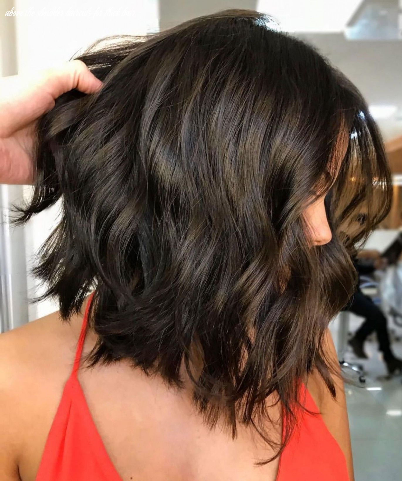 Pin on haare frisuren above the shoulder haircuts for thick hair