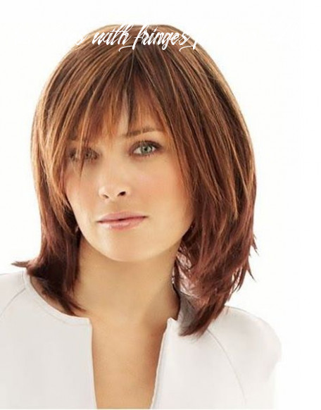 Pin on hair and makeup hairstyles with fringes for over 40