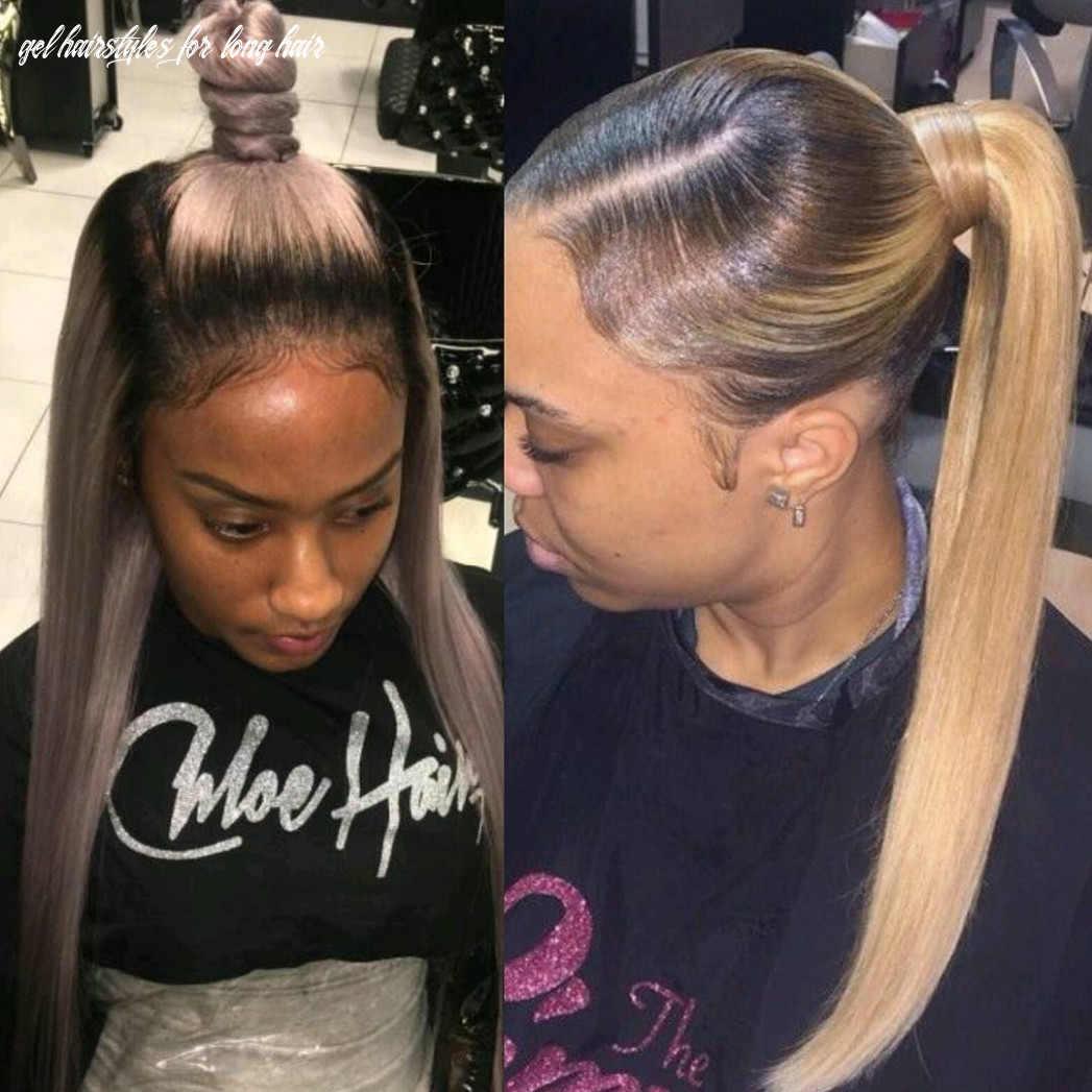 Pin on hair, beauty, protective styles gel hairstyles for long hair