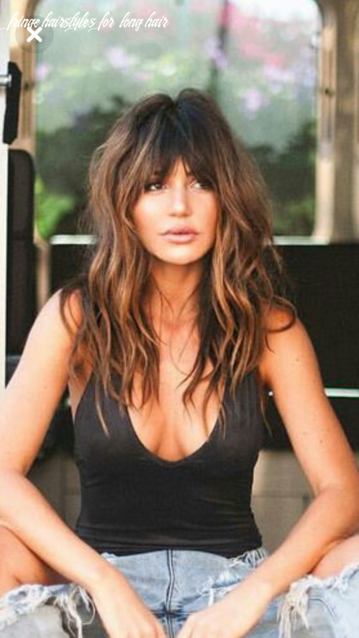 Pin on hair fringe hairstyles for long hair