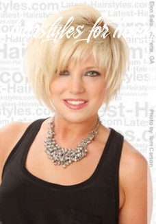 Pin on hair hairstyles for heavy women