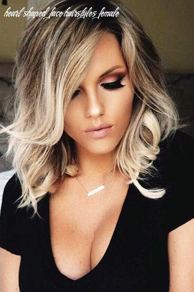 Pin on hair heart shaped face hairstyles female