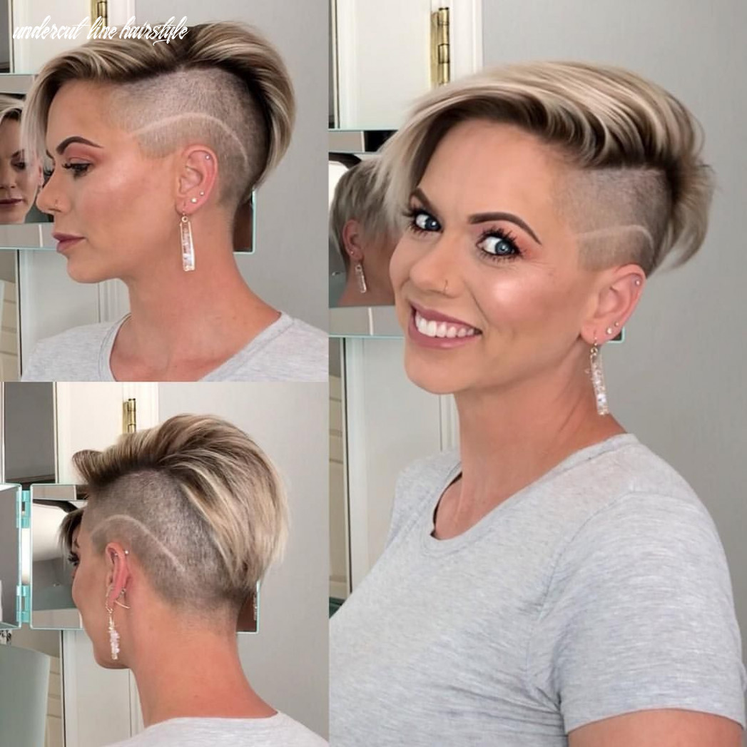 Pin on hair i love undercut line hairstyle