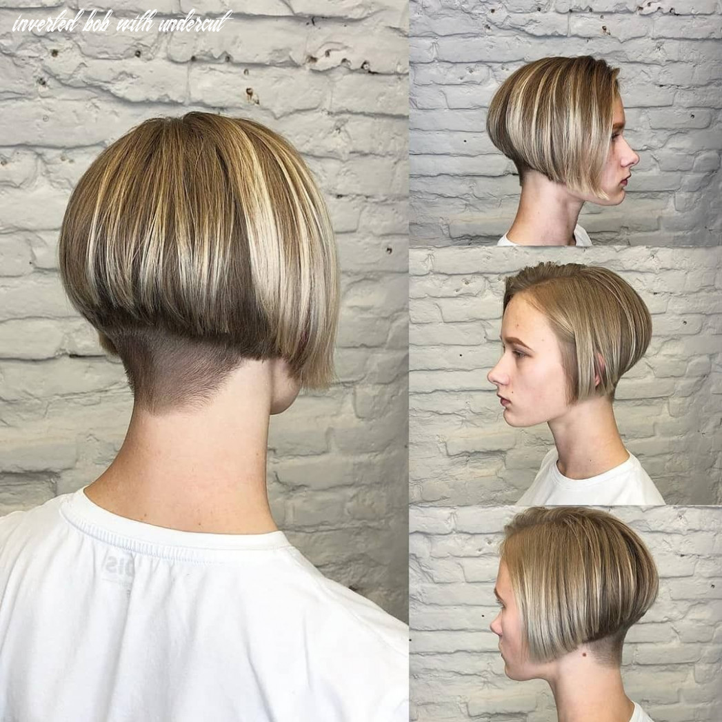Pin on hair inverted bob with undercut