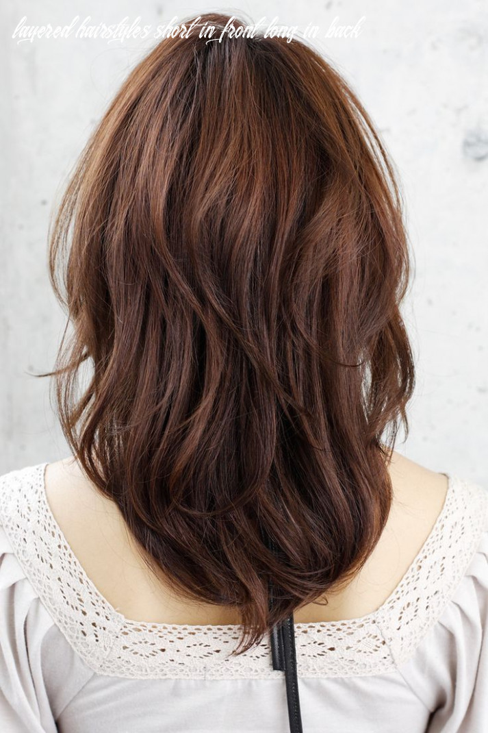 Pin on hair! layered hairstyles short in front long in back