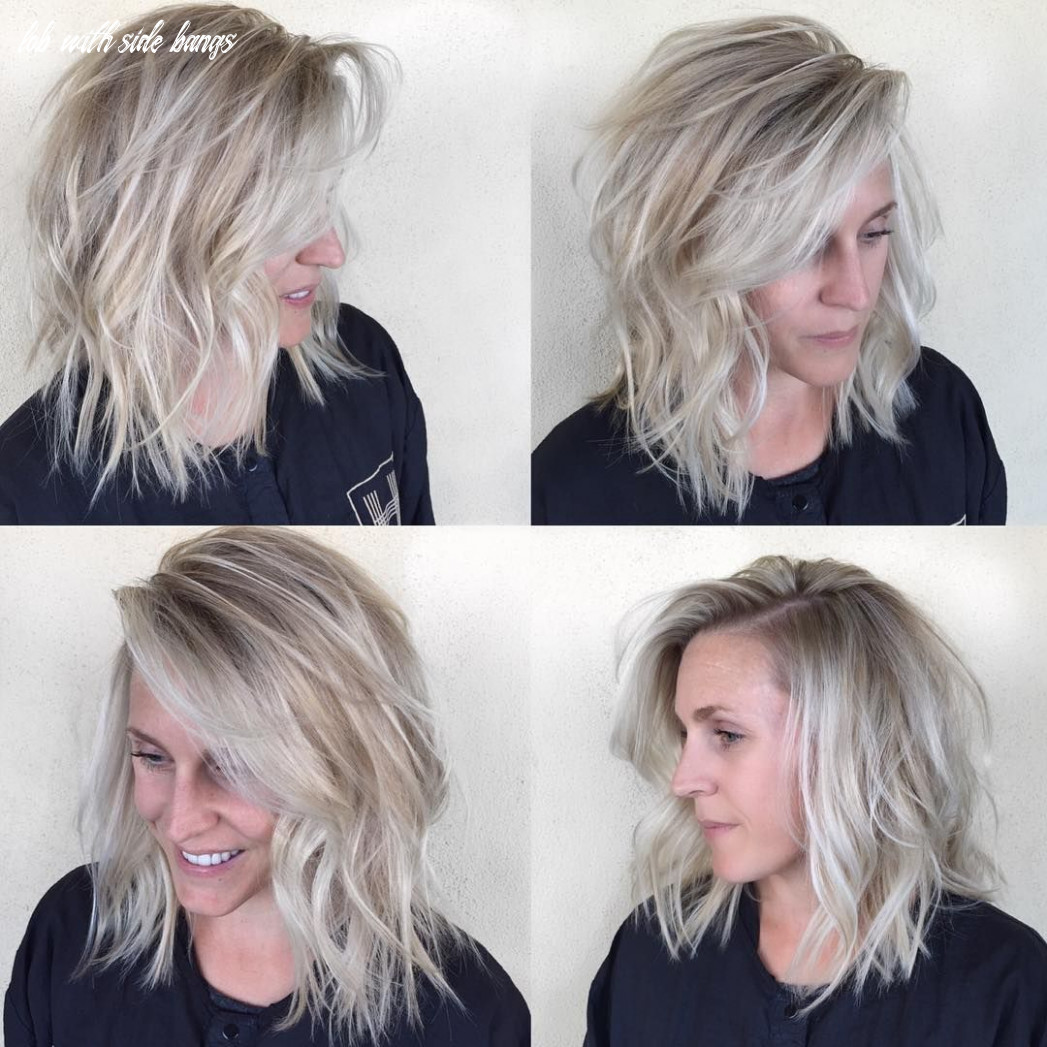 Pin on hair lob with side bangs