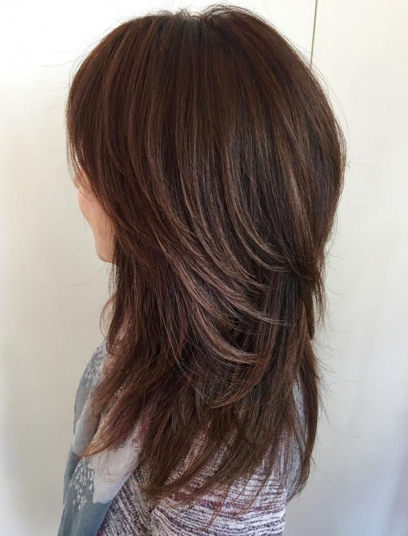 Pin on hair long shaggy hairstyles for thick hair