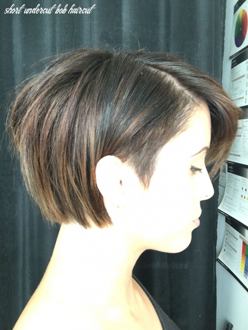 Pin on hair <10 makeup short undercut bob haircut