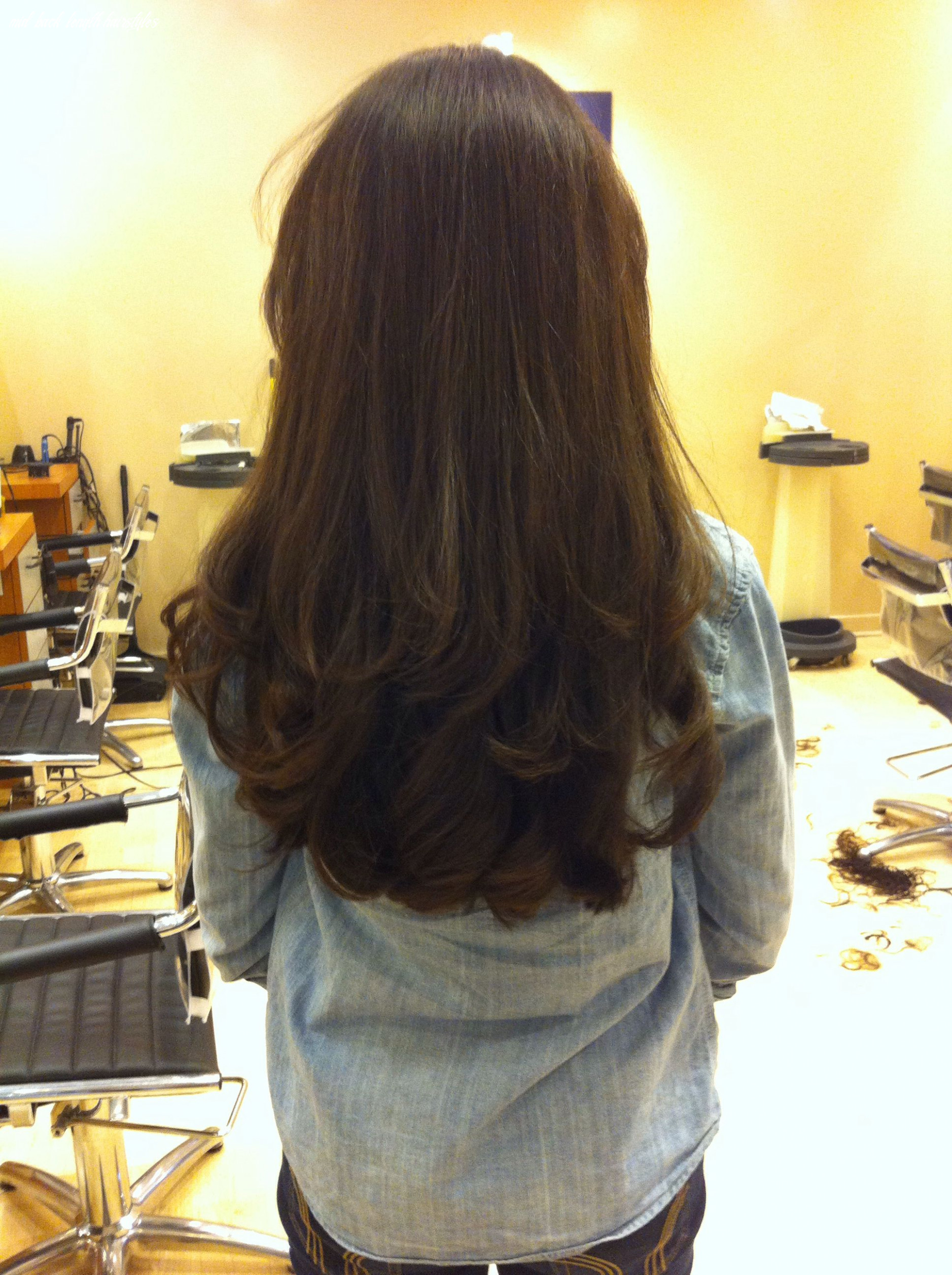 Pin on hair :) mid back length hairstyles