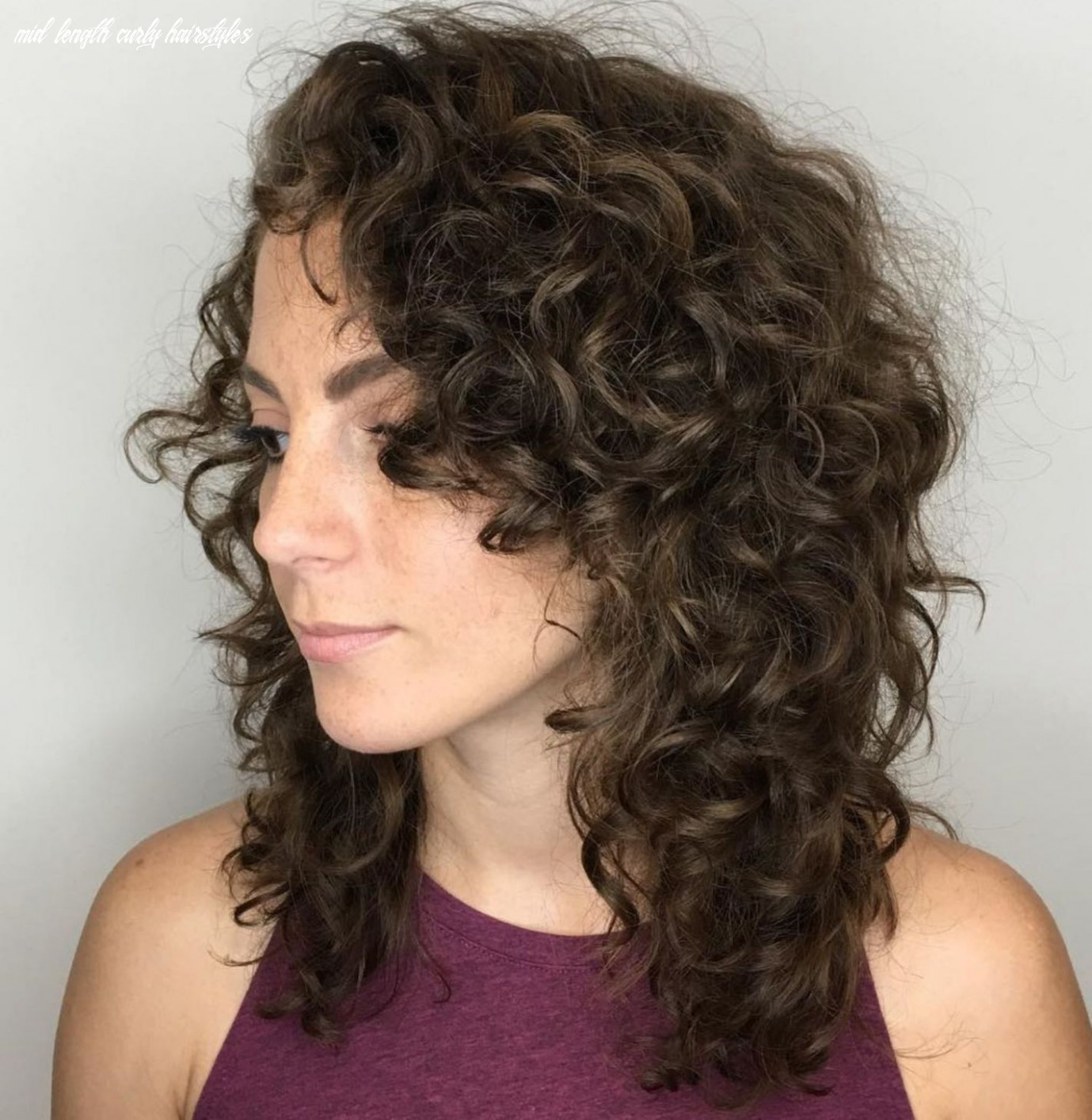 Pin on hair mid length curly hairstyles